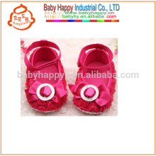 Kids Fancy Party Girls Red Baby Dress Shoes MOQ300