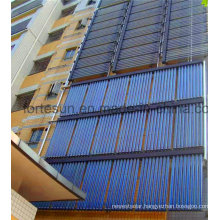 High Pressure Split Heatpipe Wall Mounted Solar Collector