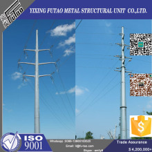 Quality Galvanized Steel Electric Tubular Pole