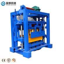 best selling small scale QTF40-2 manual cement concrete brick block making machine suppliers in South Africa