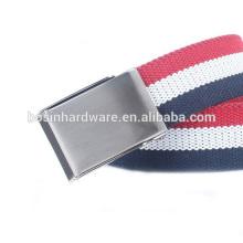Moda alta qualidade metal fivela de cinto militar