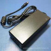 Adaptateur d'alimentation de 5V6a 9V 6A 10V6a 12V5a 24V2.5A 30V2000mA avec l'UL cUL GS Ce FCC approuvé