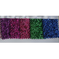 Ткани для декоративных многоцветных блестящих обоев