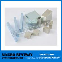 Super Block Zinc Coating Neodymium Magnet
