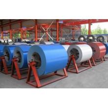 Shandong cor revestido de bobina de aço no preço barato