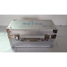 Caixa de alumínio para instrumentos com alça de mola