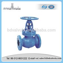 Válvula de globo de globo válvula de globo de vapor gris válvula de globo de hierro gris