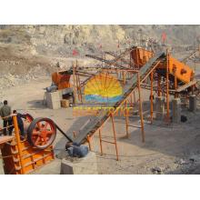 Machines de concasseur de pierre d'approvisionnement utilisées dans la pierre concasseuse