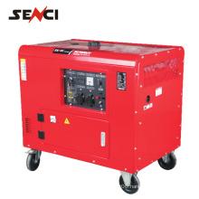 Super quiet gasoline magnet generator