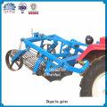 Bauernhof-Maschinen-Traktor-Kartoffel-Züchter eine Reihe Kartoffel-Bagger