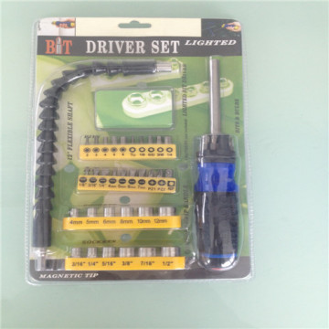 34st Bitbit Drive Set Ratcheting Drive Handle