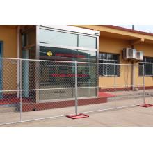 Alta Segurança Galvanizado Cadeia Link Esgrima / Temporary Fence