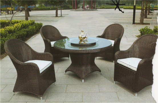 China Home Goods Leisure Ways Patio Furniture Table Set