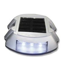 aluminium horseshoe shape reflector solar led road stud