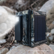 Faltbare 5W Sonnenkollektor externe Batterie Dual USB Ladegerät mit 4000mAh Power Bank