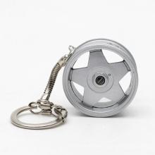 Novelty Wheel Rim Keychain Custom Popular Creative Car Auto Metal Mini Parts Tyre Key Chain