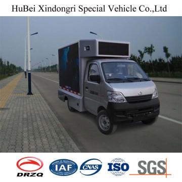 Euro4 Changan 3.5 Cbm Camión de publicidad móvil con buena calidad