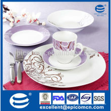 newest purple design with competitive price Chinaware