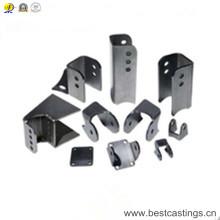 OEM personalizado grueso fuerte soporte de acero para máquinas