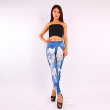 Imprimir mulher calça leggings sem emenda