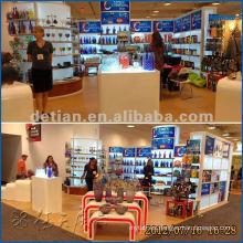 Stand expo de Shanghai para stand de alquiler o exhibición de peluquería y exposición de stand de contrato