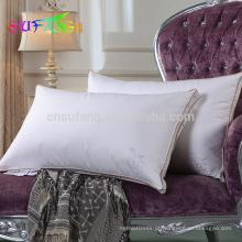 Hotel travesseiro / 233TC 100% algodão 0.9D casa hotel microfibra travesseiro