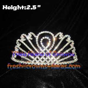 Tiaras de strass exclusivo de venda quente