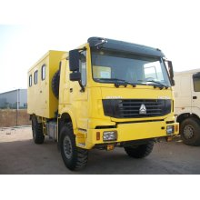 Sinotruk HOWO 4X4 Mobile Workshop Truck for Repair and Maintenance