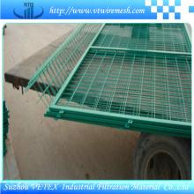 Clôture en métal de Suzhou utilisée pour le trafic
