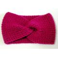 Mão Knit Headband Turbante Orelha Warmer Headwear Twist Hair Band