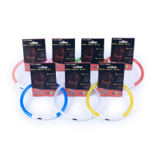 Sicherheits-Nacht-LED-Blinklicht Haustier-Kragen-wasserdichtes USB nachladbares geführtes Hundehalsband