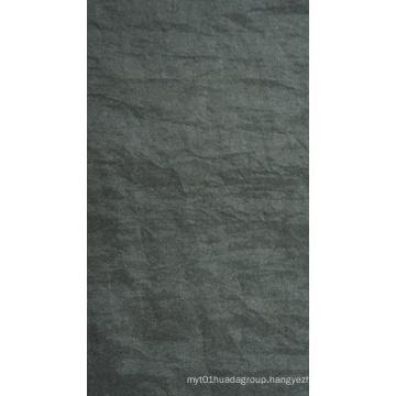 Oxford Crinkle Stonewashed Nylon Fabric with PU/PVC