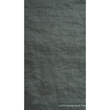 Tela de nylon stonewashed dobra Oxford com PU / PVC