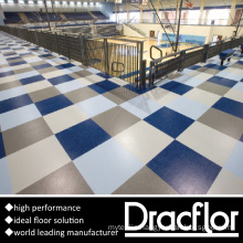 High Traffic Flooring Textured Vinyl Floor (F-1148)
