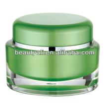 5g 10g 15g 30g 50g Oval Cosméticos Embalagem PMMA Jar