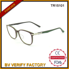 Últimas senhoras Tr90 quadros óticos marca italiana Eyewear