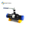 JKTL2B026 stainless steel 2 piece 90 degree american ball valve