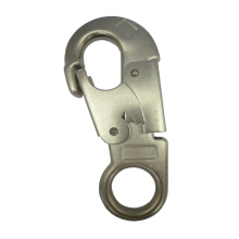 Forged Steel Double Safety Latch Industrial Iron Big Carabiner