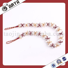Top grade crystal beads modern simple style curtain original rope