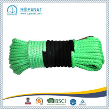 UHMWPE Synthetic Winch Rope dengan Hook and Sleeve