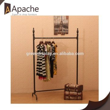 Fully stocked factory supply Metal Removable Clothing Display Stand