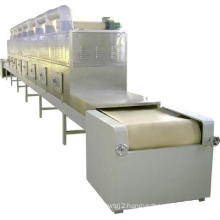 Industrial peanut potato chips shrimp microwave continuous mesh belt dryer with high quality.