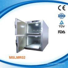 MSLMR02W Edelstahl-Mortuary Kühlschrank mit Danfoss Kompressor