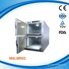 MSLMR02W Stainless Steel Mortuary Refrigerator with Danfoss compressor