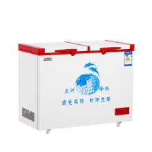 Deep Bottom Top Open Door Foced Cooling Freezer