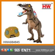 Новый предмет гигантский динозавр игрушечный rc динозавр с легким и музыкальным пультом дистанционного управления динозавр