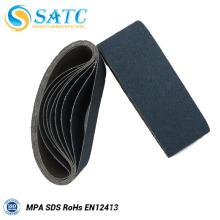 Gros tissu support bandes abrasives pour le polissage
