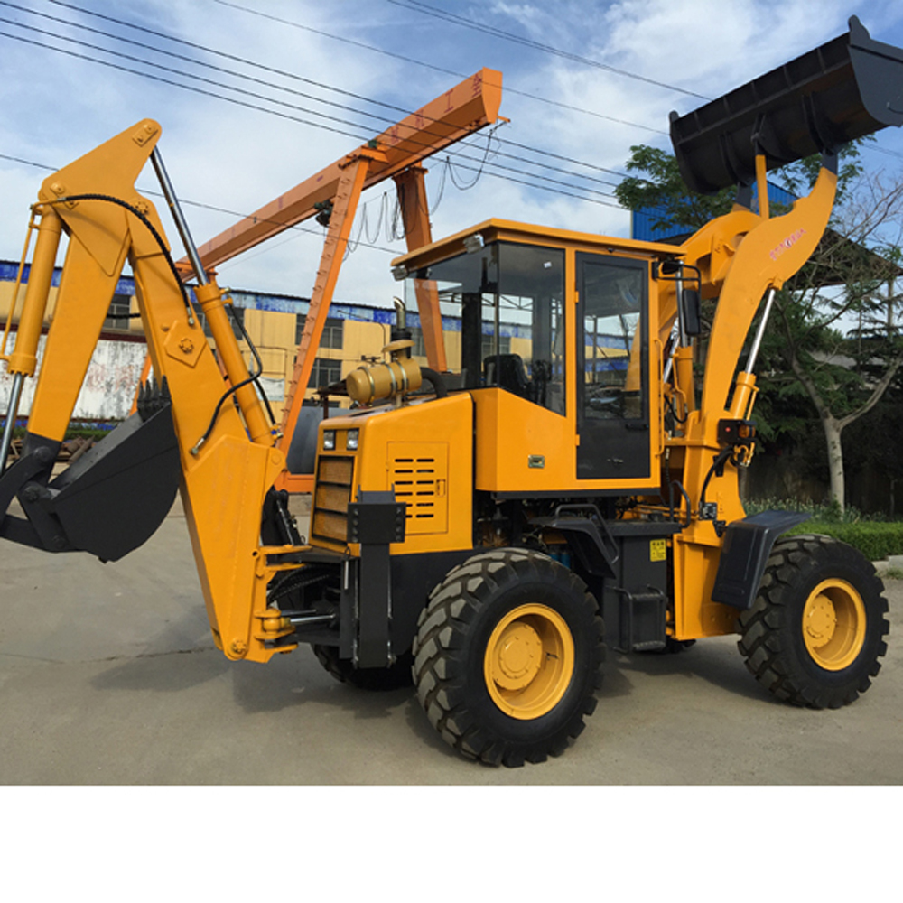 Mini Backhoe Loader