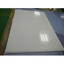 Feuille brillante blanche de PVC rigide pour l'impression d'écran