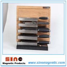 Venda Direta Da Fábrica 2014 Aço Inoxidável Cozinha Titular Faca Magnética